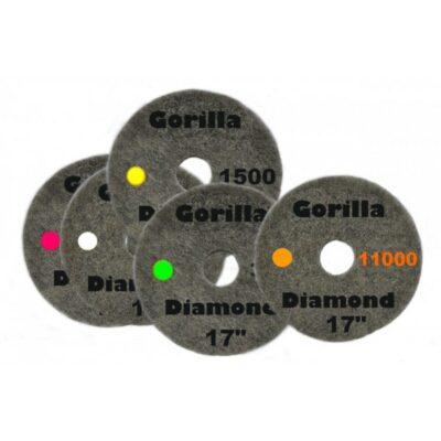 Pady diamentowe (Gorilla)