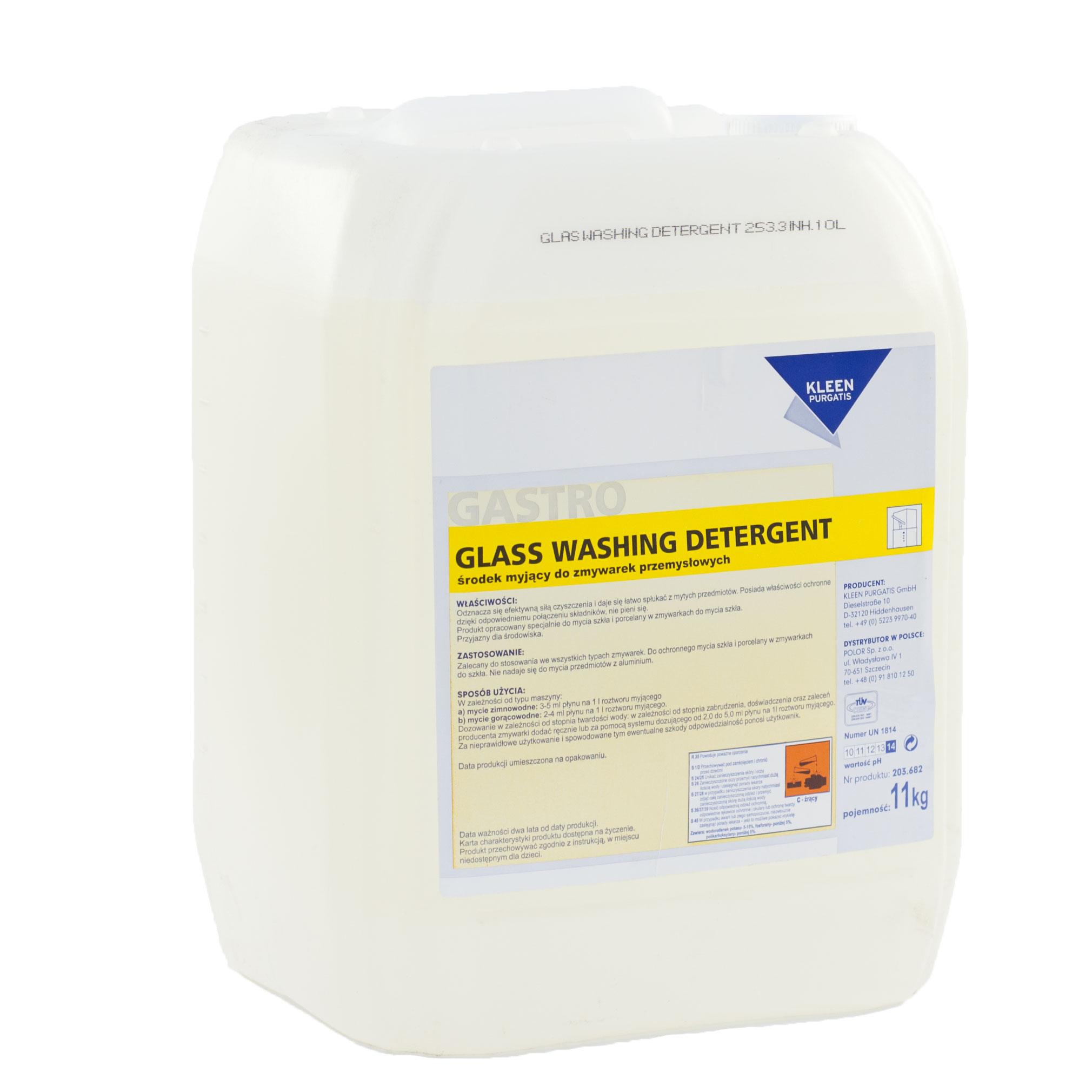 Środki czyszczące Kleen – Glass Washing Detergent
