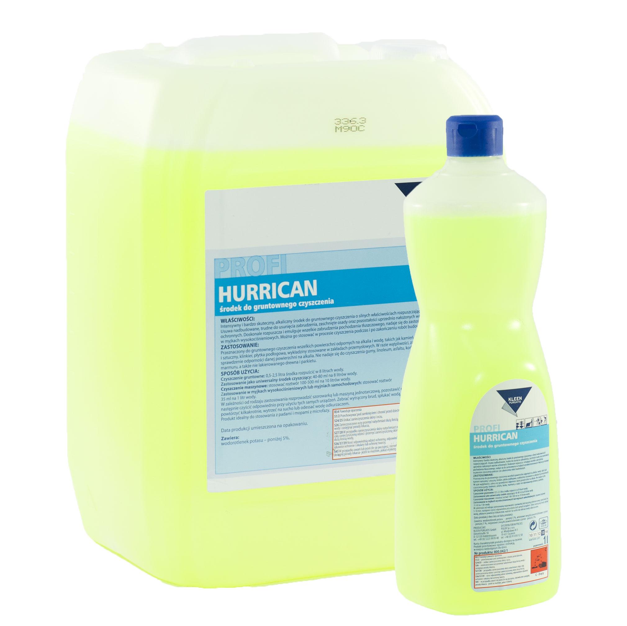 Środki czyszczące Kleen – Hurrican