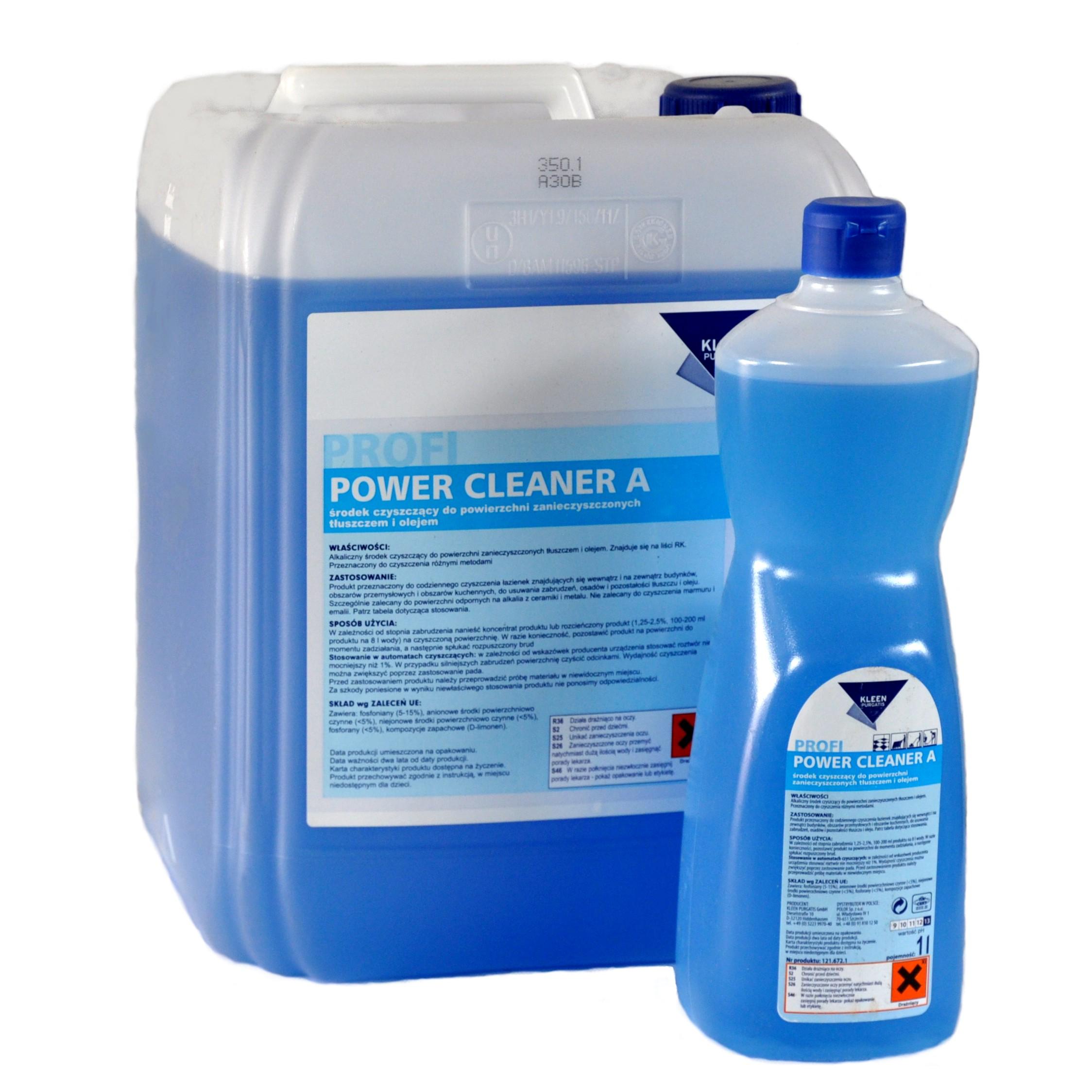 Środki czyszczące Kleen – Power Cleaner A
