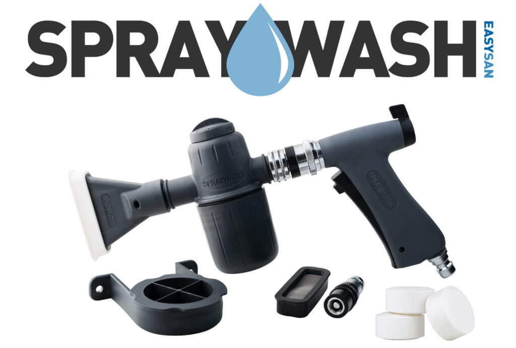 Spraywash, pistolet do dezynfekcji