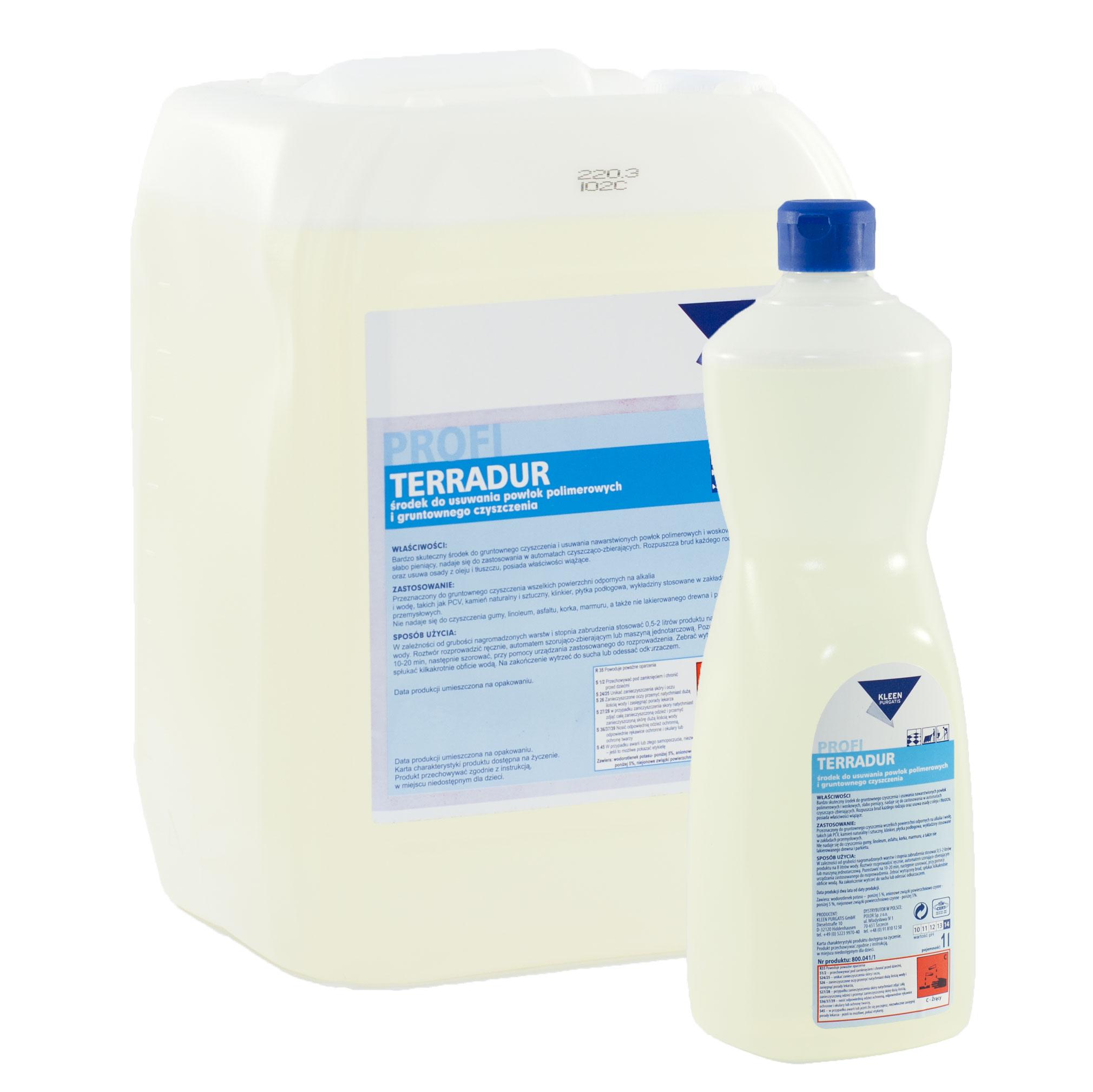 Środki czyszczące Kleen – Terradur