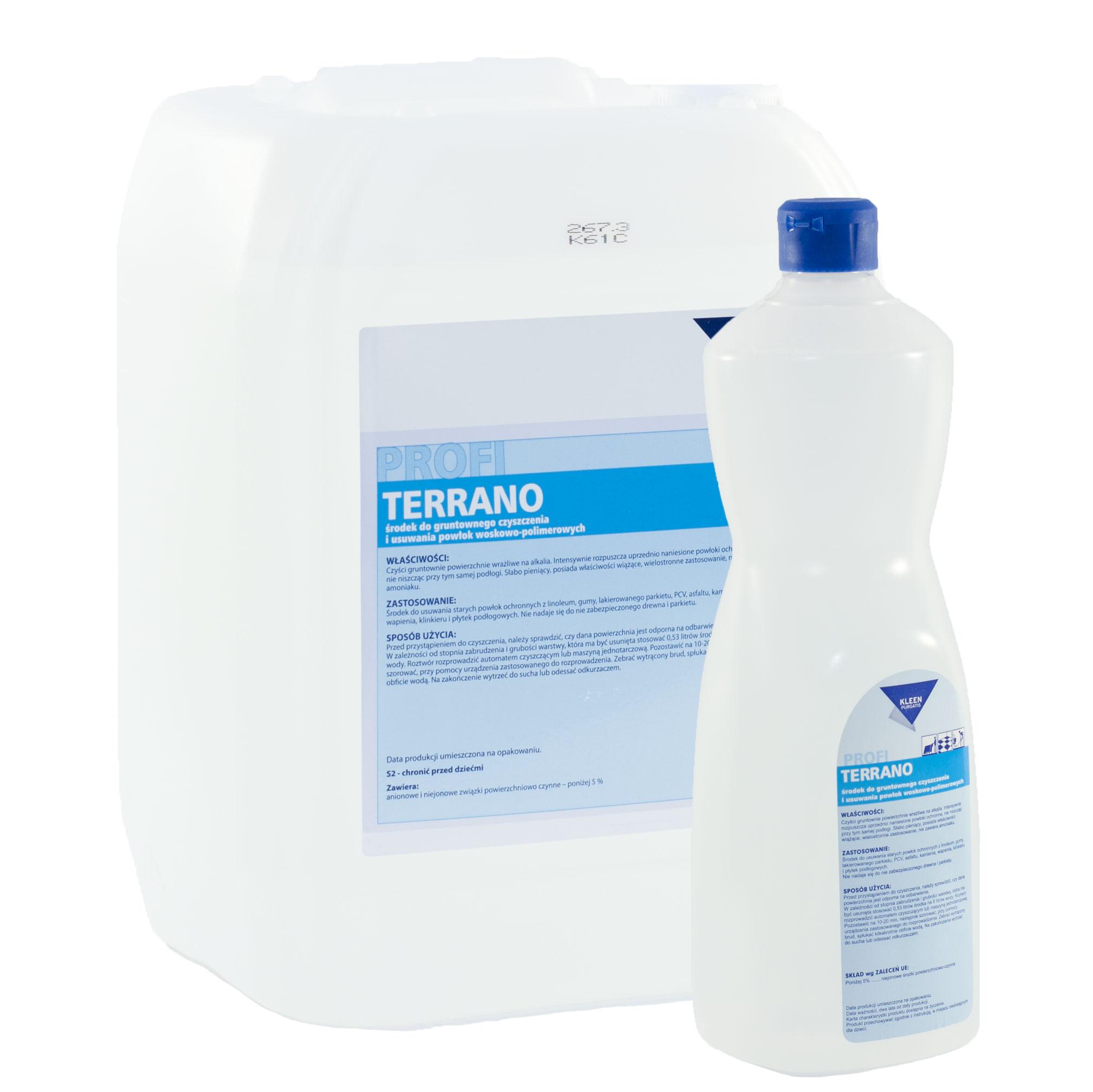 Środki czyszczące Kleen – Terrano