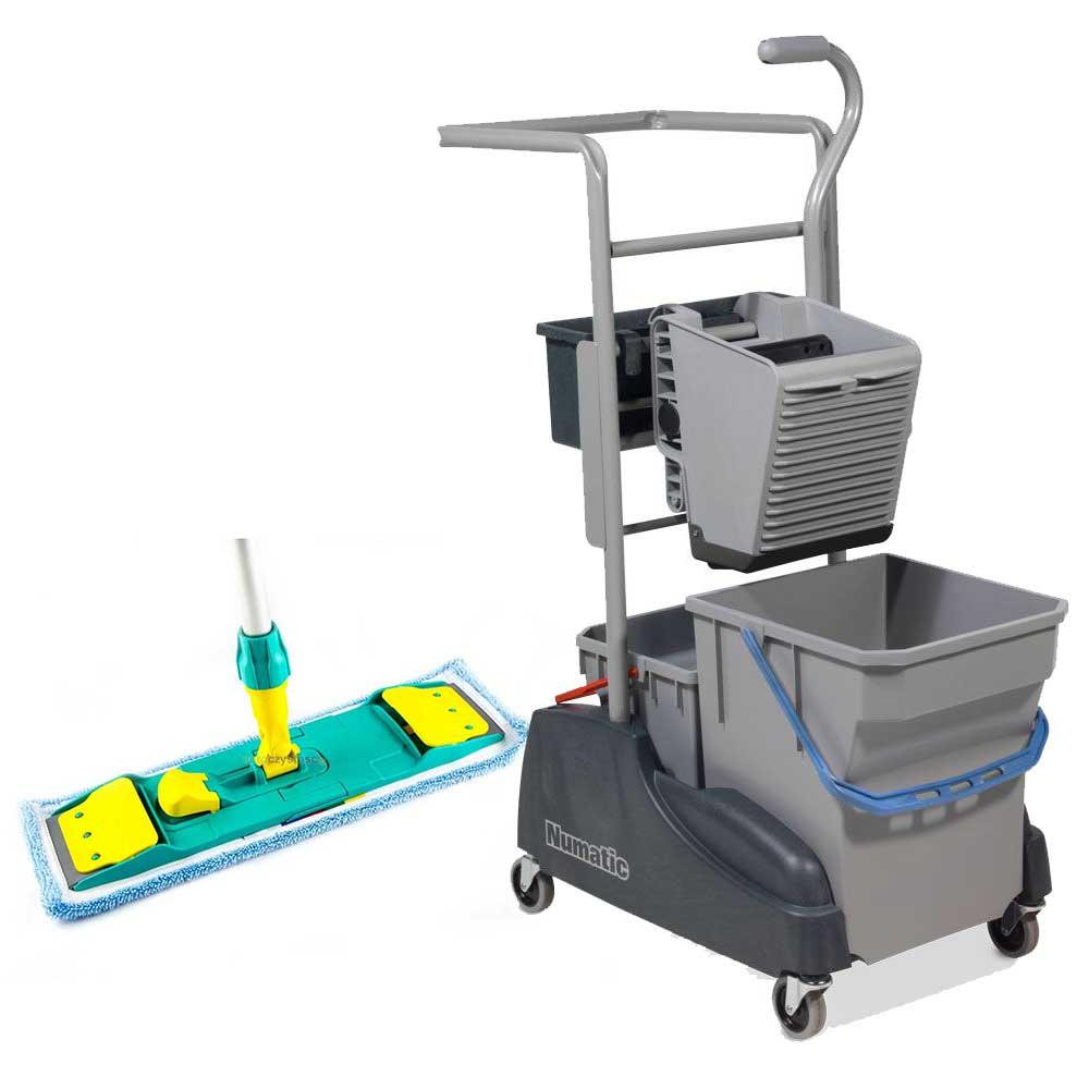 Wózki do sprzątania – Numatic TM 2815G + mop TTS Light 3 otw.