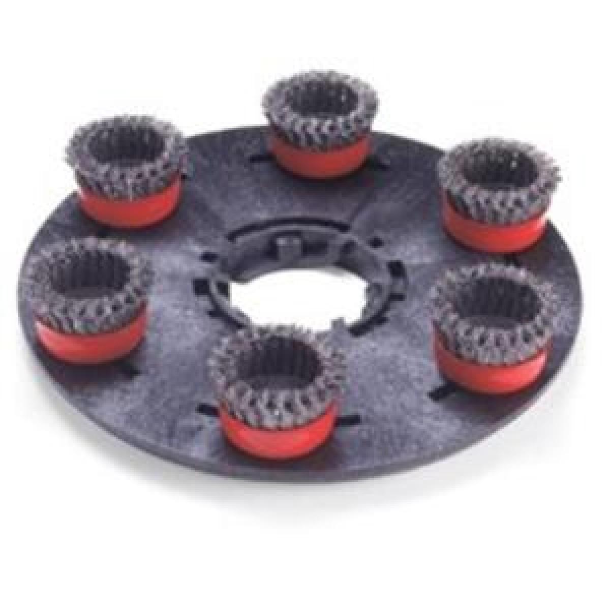 Akcesoria i części – Uchwyt z drucianymi szczotkami 400 mm